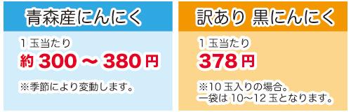 価格の比較